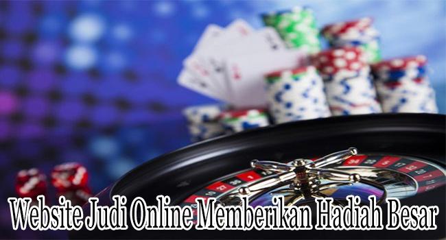 Website Judi Online Bola Memberikan Hadiah Besar Bagi Member
